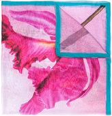Faliero Sarti flower print scarf - women - Silk/Modal - One Size