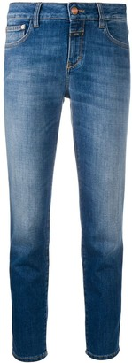 Closed Mid-Rise Slim-Fit Jeans