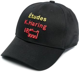 Études x Keith Haring embroidered baseball cap