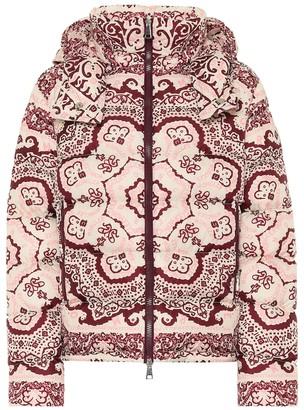 Moncler Turquin printed down jacket