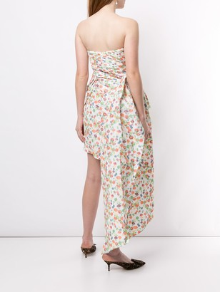 Tory Burch Floral Print Mini Dress