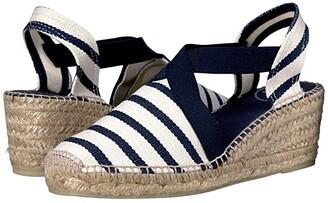 Toni Pons Tarbes (Ecru/Navy) Women's Shoes