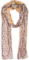 Rachel Zoe Sequined-Embellished Stole