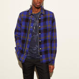 Coach Plaid Zip Shirt