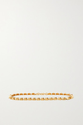 Valentino Garavani Roman Studded Gold-tone Belt - 65