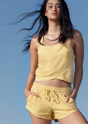 Lorna Jane Summer Vibes Luxe Linen Shorts