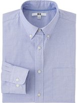 Uniqlo Men's Extra Fine Cotton Broadcloth Dress Shirt