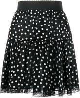 Dolce & Gabbana polka dot print skirt - women - Silk/Cotton/Polyamide - 40