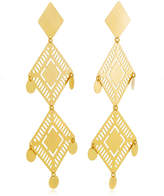 Paula Mendoza Kambiru Gold-Plated Brass Earrings