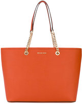 MICHAEL Michael Kors chain-embellished tote - women - Leather - One Size