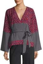 Robert Rodriguez Kimono Wrap Blouse