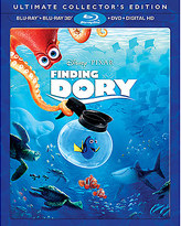 Disney Finding Dory 3D Blu-ray Ultimate Collector's Edition
