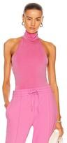 Thumbnail for your product : JONATHAN SIMKHAI STANDARD Torrance Halter Bodysuit in Pink