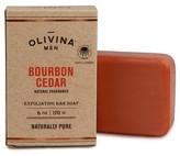 Olivina MEN Bourbon Cedar Exfoliating Bar Soap - 6oz