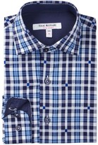 Isaac Mizrahi Long Sleeve Plaid Shirt (Toddler, Little Boys, & Big Boys)