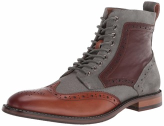 Stacy Adams mens Finnegan Wingtip Lace-up Fashion Boot