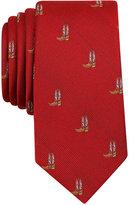 Bar III Men's Cowboy Boot-Print Tie, Only at Macy's