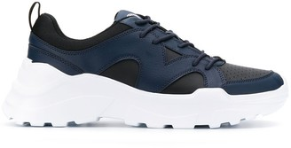 Trussardi Jeans chunky sole sneakers