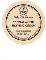 Taylor Of Old Bond Street Taylor of Old Bond Street Sandalwood Travel Tub Shaving Cream 60ml