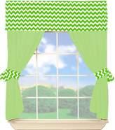 Babydoll Baby Doll Chevron Valance Curtain Set