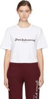 Gosha Rubchinskiy White Logo T-shirt