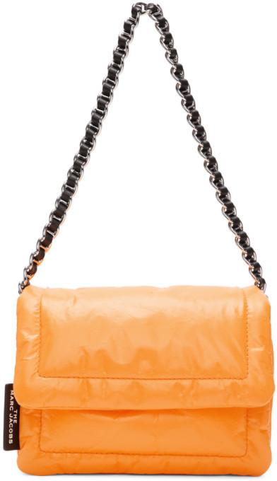 Marc Jacobs Orange The Mini Pillow Bag