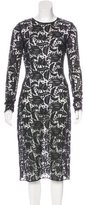 ADAM by Adam Lippes Lace Midi Dress