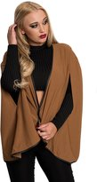 IKRUSH Women's Ladies Waterfall Casual Glam Stunning Cardigan