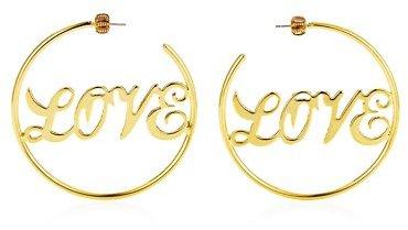 Juicy Couture Love Hoop Earring