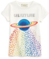 Gucci Girl's Galaxy Love Grapic Tee