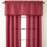 Asstd National Brand Jardan 3-Pack Jaccquard Rod-Pocket Curtain Panels