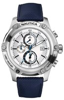 Nautica Men's N17575G NST 05 Silver Dial Watch