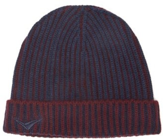 Sease - Dinghy Logo-embroidered Cashmere Beanie - Navy