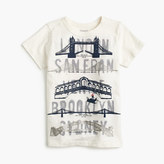 J.Crew Boys' famous bridges T-shirt