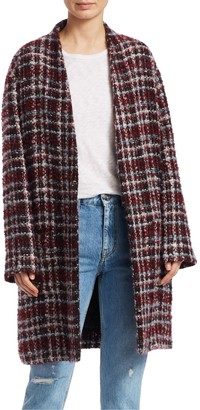 Iro . Jeans Twisted Tweed Coat