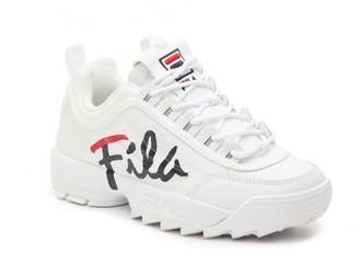 Fila Disruptor II Script Sneaker - Women's