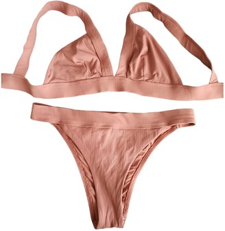 BEIGE Oysho Lycra Swimwear for Women