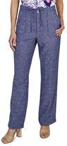 Haggar Petite Drawstring Pants