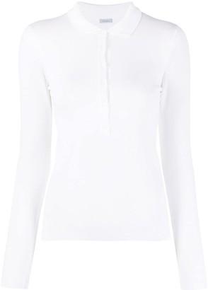Malo Long-Sleeve Polo Shirt