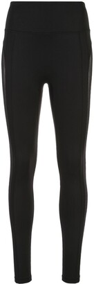 Kiki de Montparnasse Mesh-Panel Compression Leggings
