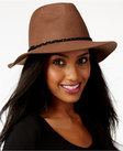 nine west felt rancher hat