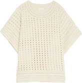 Chloé Crochet-knit Sweater - Cream