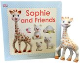 "Sophie La Girafe ""Sophie and Friends"" Book & Teether Set"