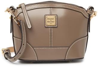 Dooney & Bourke Mini Domed Leather Corssbody Bag
