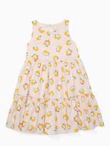 Kate Spade Girls orangerie midi dress