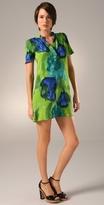 Short Sleeve Henley Dress