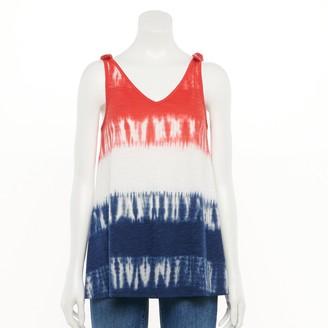 Sonoma Goods For Life Women's Patriotic Swing Tank