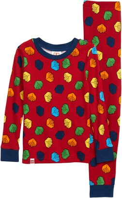 Lego Iconic Brick Fitted Two-Piece Pajamas