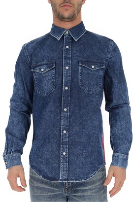 Givenchy Side Band Denim Shirt