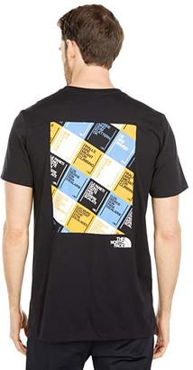 The North Face Walls Are Meant For Climbing Short Sleeve Tee (TNF Black/Multicolor) Men's T Shirt